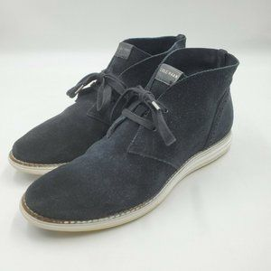 Cole Haan Original Grand Chukka Sneaker Black sz 9